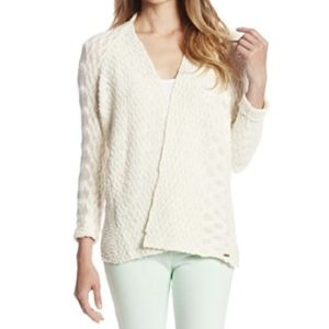 Roxy knitted sandy wave knitted boho cardigan